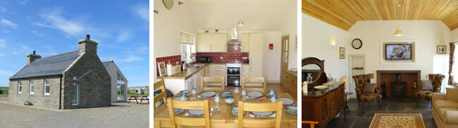 Upper Instabillie - Orkney 4 Star self catering accommodation with dog kennel